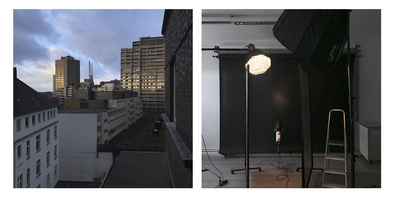 Making-of-Bild Imageaufnahmen und Künstlerportraits James Sunburst Fotograf Daniel Möller Hannover