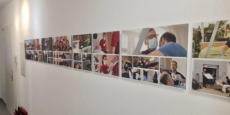 Making-of-Bild von der Bildergalerie mit Imageaufnahmen von Ihre Pflege Sachsen GmbH in Dresden Fotograf mit Daniel Möller Hannover