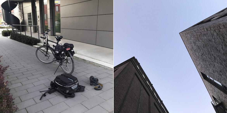 Making-of-Bild Fotoshooting im Mietstudio 7. Stock mit Sängerin Ute Engelke und Fotograf Daniel Möller aus Hannover
