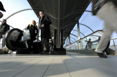 Reportageaufnahme CeBIT 2011 Messegelände Hannover Fotograf Daniel Möller