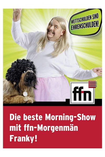 Werbeaufnahmen Morningshow mit Morgenmän Franky und Bizkit von Radio ffn von Daniel Möller Fotograf aus Hannover