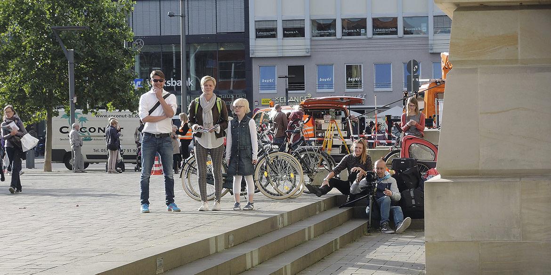 Making-of-Bild Titel Reiseplaner 2016 Stadtmarketing Braunschweig Fotograf Daniel Möller Hannover