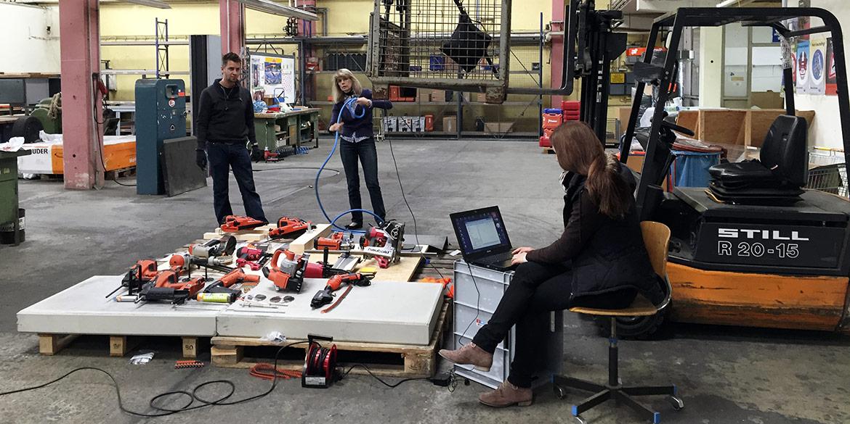 Making-of-Bild Imageaufnahme ITW Befestigungssysteme Fotograf Daniel Möller Hannover