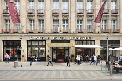 Außenaufnahme Kastens Hotel Luisenhof von Fotograf Daniel Möller Hannover