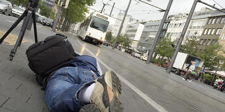 Making-of-Bild Fotoshooting Instagram-Motive Stadtmarketing Braunschweig Fotograf Daniel Möller Hannover