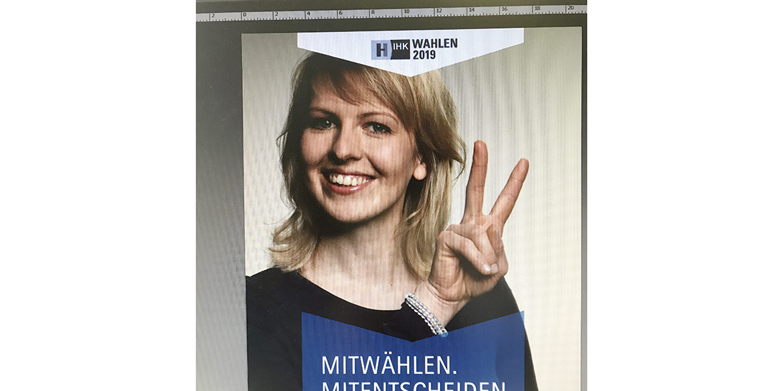 Making-of-Bild Portraits für Anzeigenkampagne IHK Hannover mit Fotograf Daniel Möller