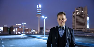 Businessportraits Kommunikationsdesigner Manuel Zenker von Fotograf Daniel Möller Hannover