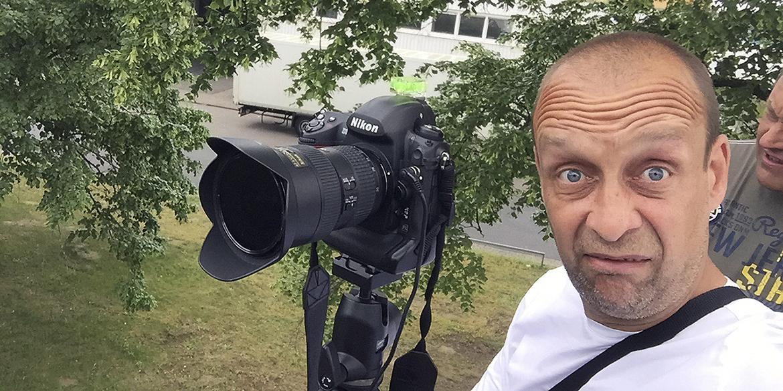 Making-of-Bild Imageaufnahmen und Businessportraits Hanomag Lohnhärterei mit Fotograf Daniel Möller aus Hannover