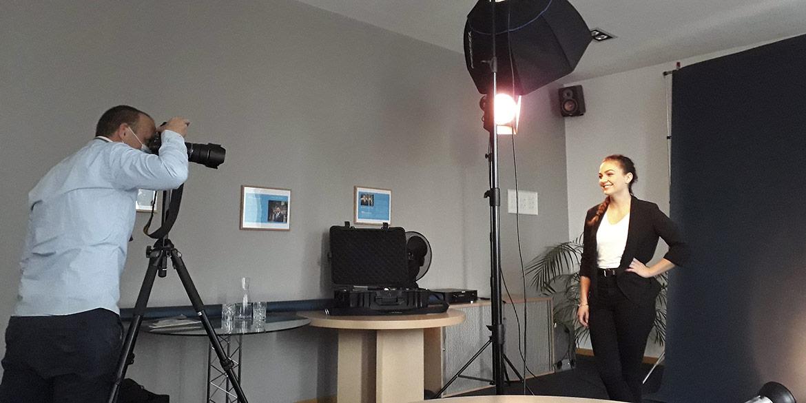 Making-of-Bild Kampagnen-Aufnahmen Swiss Life tecis in Hamburg mit Fotograf mit Daniel Möller aus Hannover