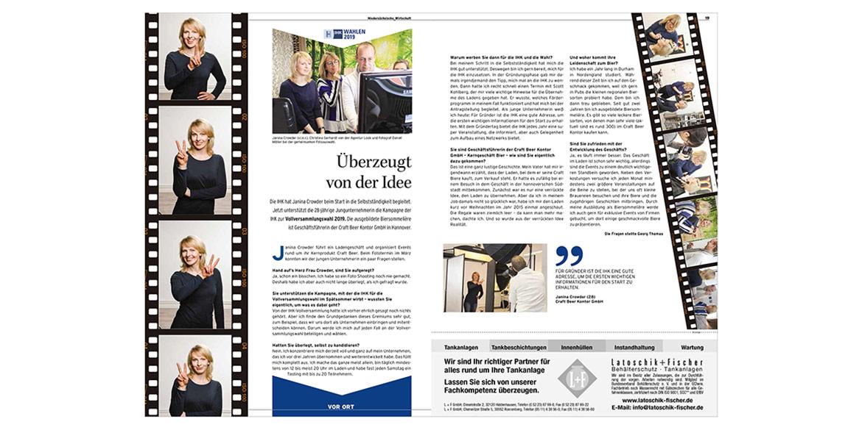 Werbeaufnahmen Testimonialkampagne Wahl 2019 Vollversammlung IHK Hannover von Fotograf Daniel Möller Hannover