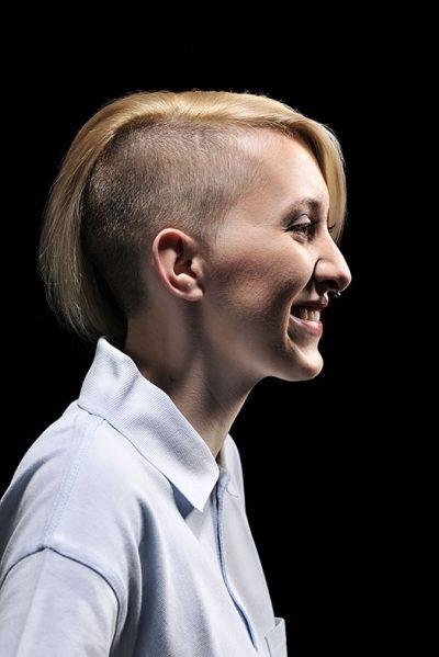 """Portraitaufnahmen Werbekampagne """"Mensch Alter - Du bist meine Zukunft"""" von Fotograf Daniel Möller Hannover"""