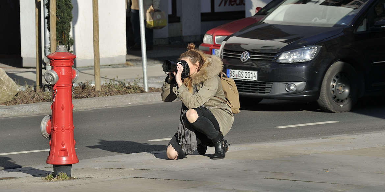 Making-of-Bild Foto-Workshop für Braunschweig Stadtmarketing mit Fotograf Daniel Möller aus Hannover