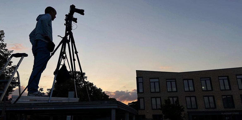 """Making-of-Bild Timelapse-Video """"Night of Light"""" Sennheiser Electronic GmbH & Co. KG Fotograf Daniel Möller Hannover"""