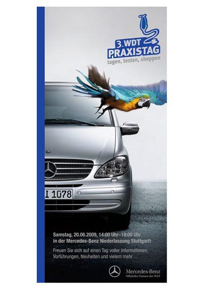 Layout mit Werbeaufnahmen Wirtschaftsgenossenschaft deutscher Tierärzte Daniel Möller Fotograf Hannover