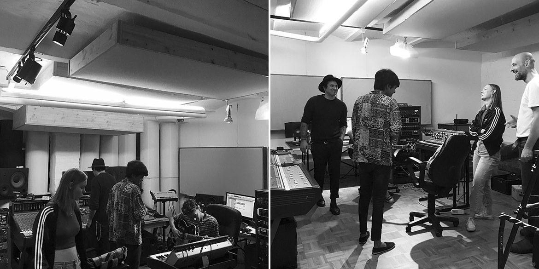 Making-of-Bild Imageaufnahmen Sennheiser in den Tonstudios Trixx und JRS Berlin mit Fotograf Daniel Möller aus Hannover