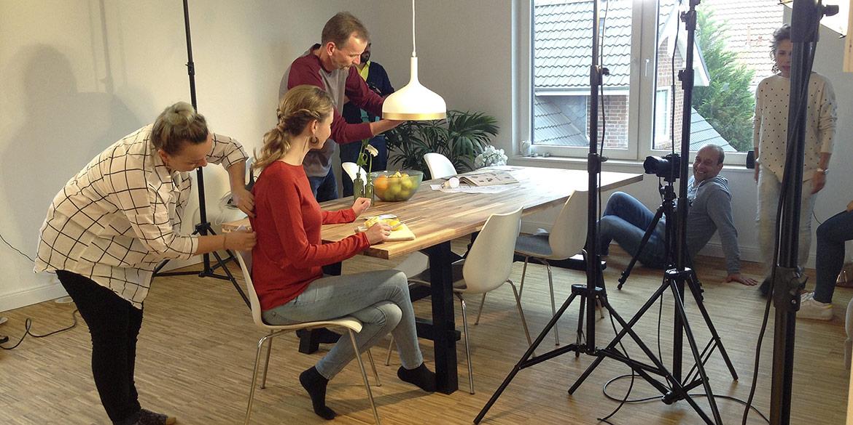 Making-of-Bild Imageaufnahmen Paulmann Licht GmbH mit Fotograf Daniel Möller aus Hannover
