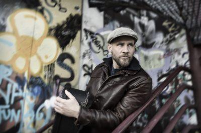 Künstlerportrait on location von Musiker James Sunburst Fotograf Daniel Möller Hannover