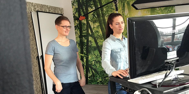 Making-of-Bild Businessportraits Mitarbeiter Daniel Möller Fotografie Hannover
