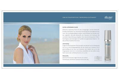 Werbeanzeige La mer Kosmetik Fotograf Daniel Möller Hannover
