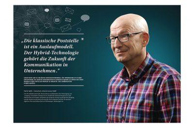 Geschäftsbericht 2014 Francotyp Postalia von Fotograf Daniel Möller Hannover