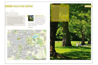 Layout Broschüre Sehenswertes in Braunschweig mit Aufnahmen von Fotograf Daniel Möller aus Hannover