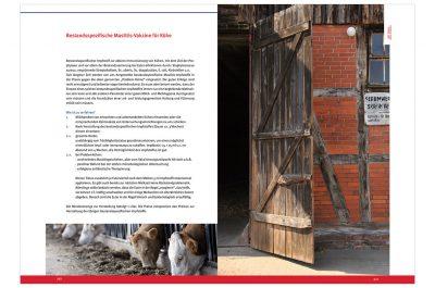 Infobroschüre mit Werbeaufnahmen Serumwerk Memsen für die Wirtschaftsgenossenschaft deutscher Tierärzte Daniel Möller Fotograf Hannover