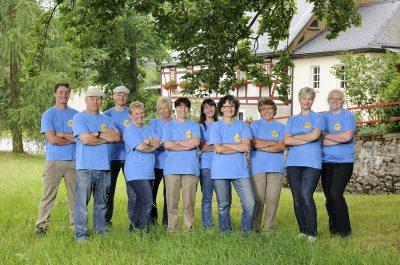 Teamaufnahme Dörnthaler Ölmühle Pfaffroda von Fotograf Daniel Möller Hannover